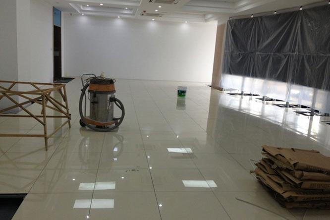 防静电瓷砖地板(黄聚晶)3
